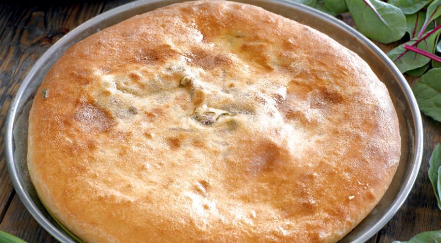 Рецепт Пирог из листьев свеклы и свежего сыра