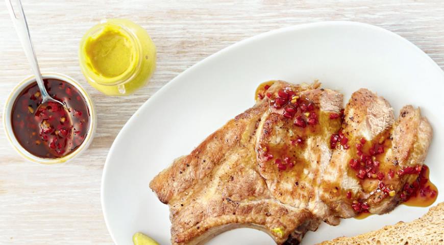 Рецепт Остро-сладкий соус к жирному мясу и птице