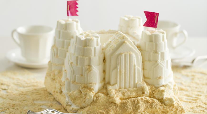 Рецепт Торт-мороженое «Песочный замок»
