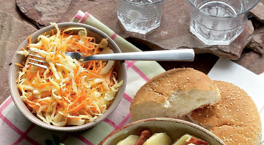 Колслоу, капустный салат