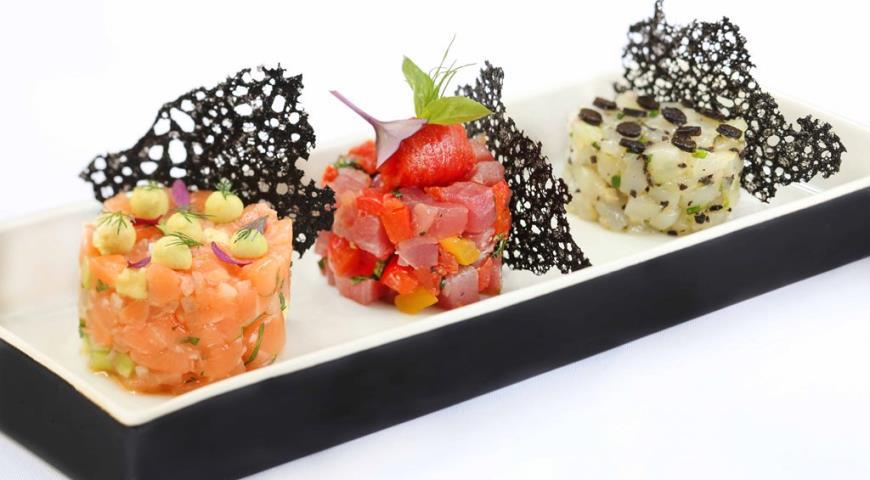 Морской тартар - рецепт любителям морепродуктов