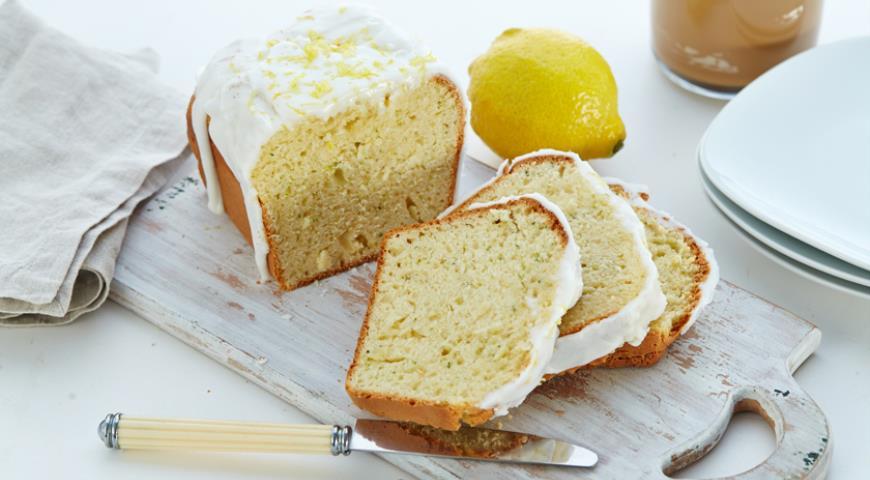 Рецепт Кекс из цукини с лимонной глазурью