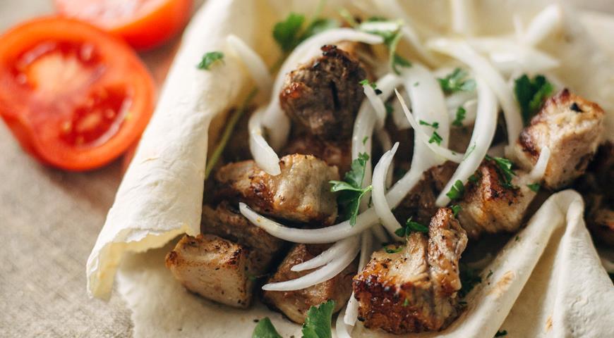 Рецепт Классический шашлык из свинины