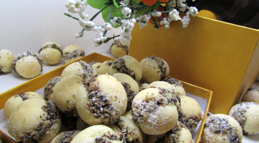 Рецепт Песочное мини-печенье