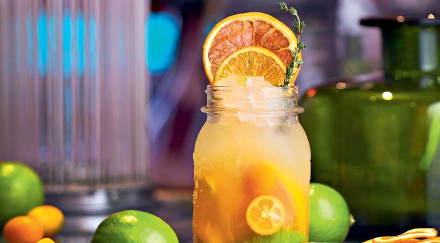 Рецепт Коктейль Citrus&Honey от Алексея Мочнова
