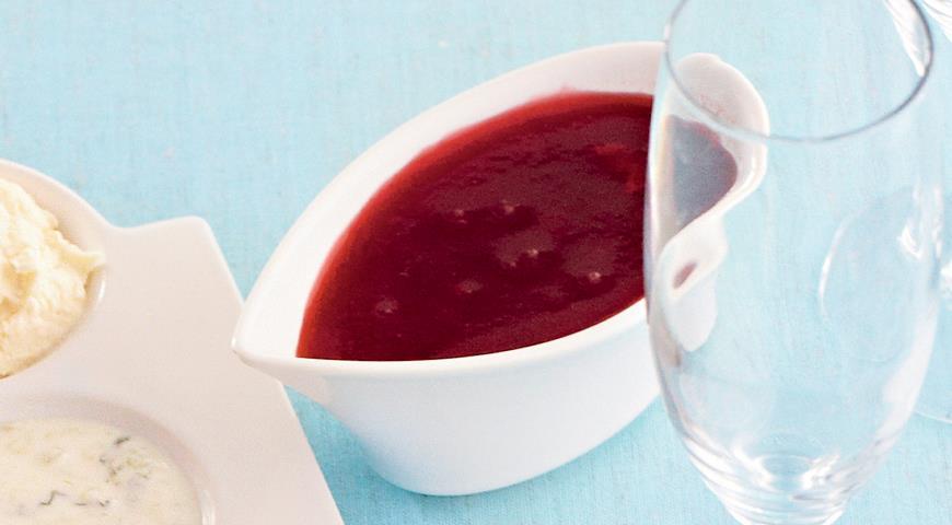 Рецепт Брусничный соус