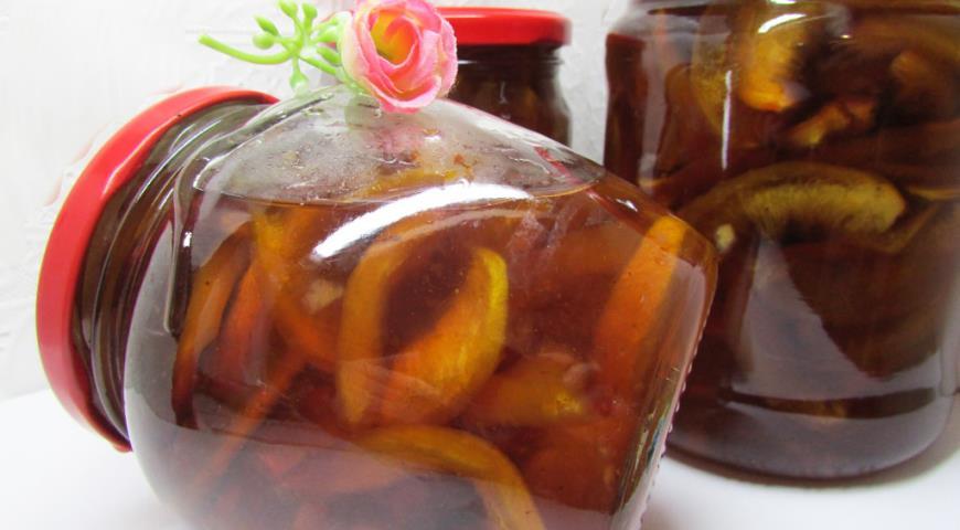 Рецепт Варенье из нектаринов с лимоном