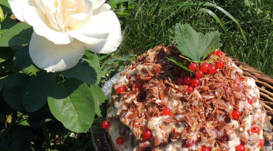 Рецепт Торт 3 ягодки для дочки