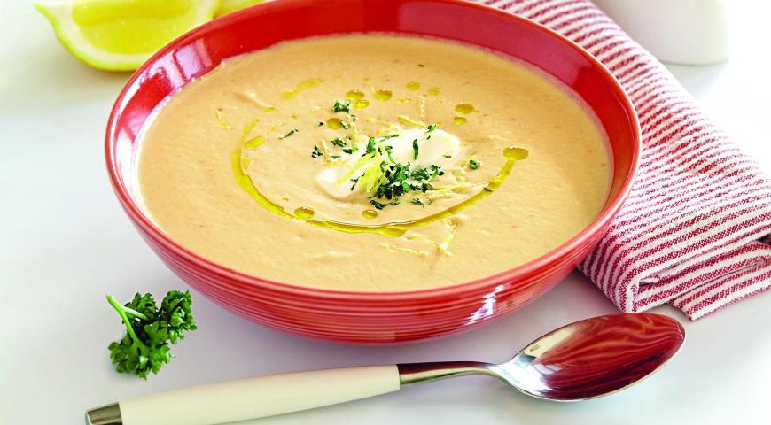 Суп с баклажанами и помидорами