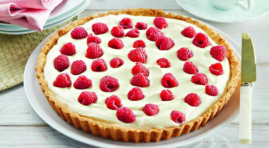 Рецепт Тарталетка с кремом и ягодами