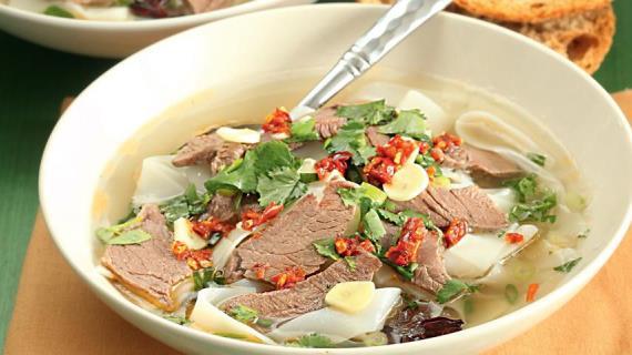 Супы с мясом и птицей