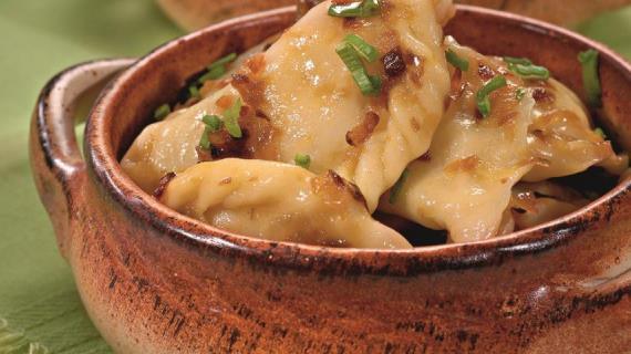 Вареники с картошкой, пошаговый рецепт с фото