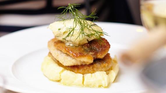 Представление блюда из картошки