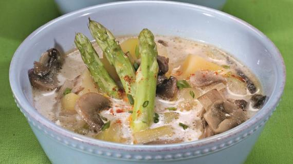 Суп из желтой чечевицы