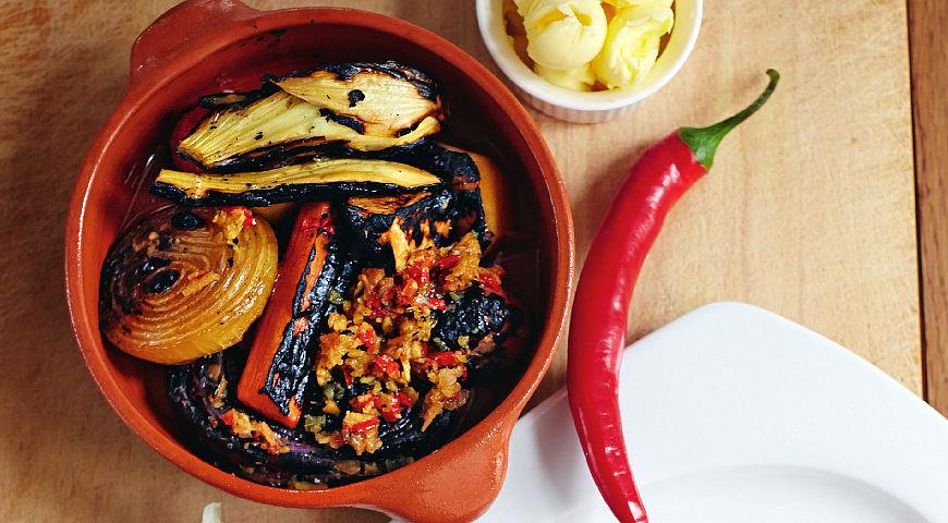 Рецепт Салат из маринованных овощей