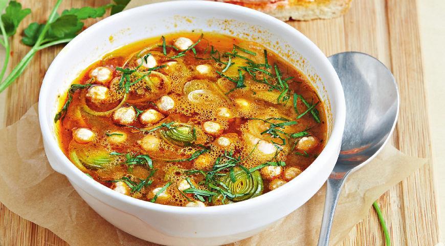 Рецепт Копченый суп из рыбы