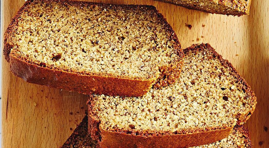 Рецепт Хлеб на яйцах без глютена и дрожжей