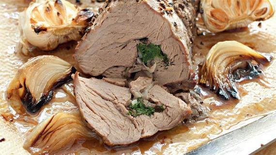 Запеченное мясо: говядина и телятина