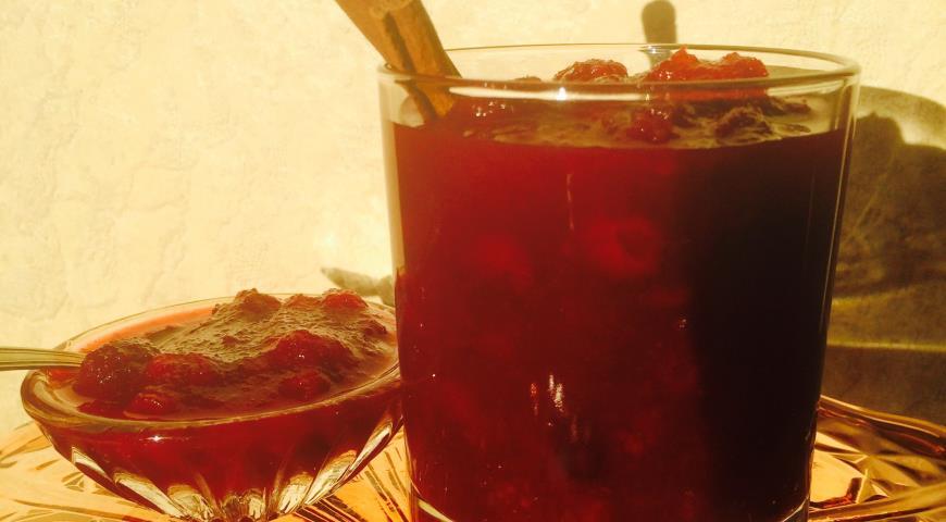 Рецепт Джем вишнево-яблочный