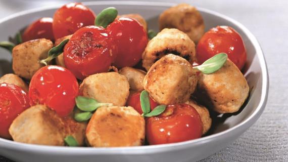 Тефтели с томатами, пошаговый рецепт с фото