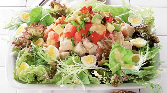 Куриный салат с сельдереем, пошаговый рецепт с фото
