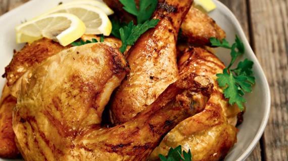 Курица, запеченная в фольге, пошаговый рецепт с фото