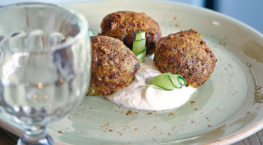 Рецепт Колококефтедес, овощные «фрикадельки»