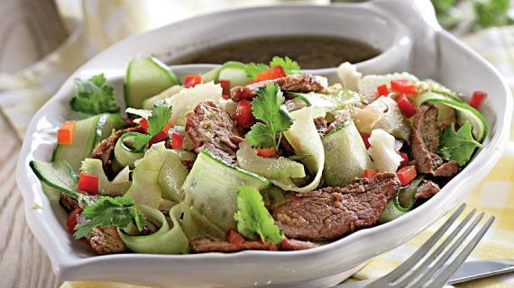 безуглеводный салат рецепт