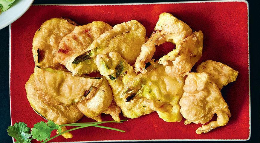 Рецепт Овощи в темпуре
