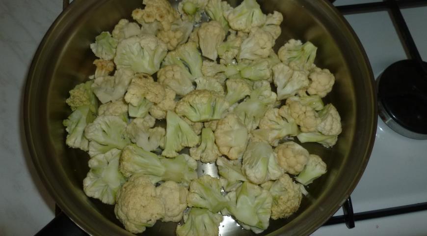 Рецепты цветной капусты пошагово