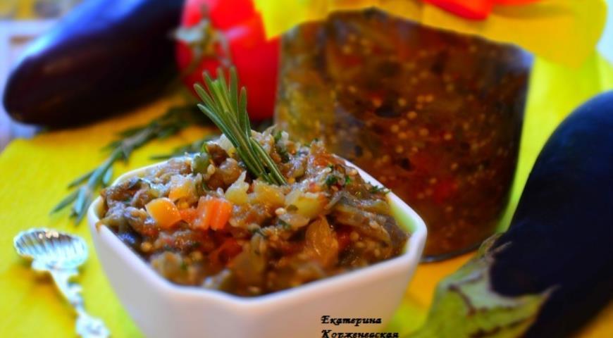 Рецепт Икра из баклажанов Самая вкусная