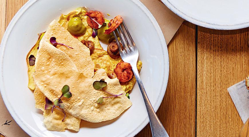 Рецепт Индийский завтрак New Delhi