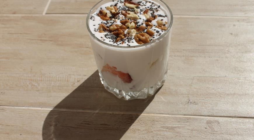Рецепт Десерт с ягодами