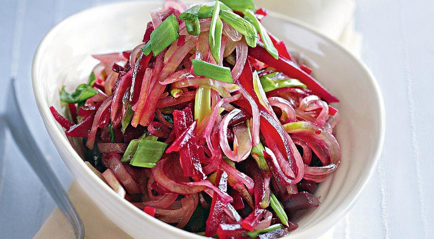 Салаты со свеклой рецепты с пошаговым фото
