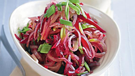 Салат из свеклы и редьки по-татарски, пошаговый рецепт с фото
