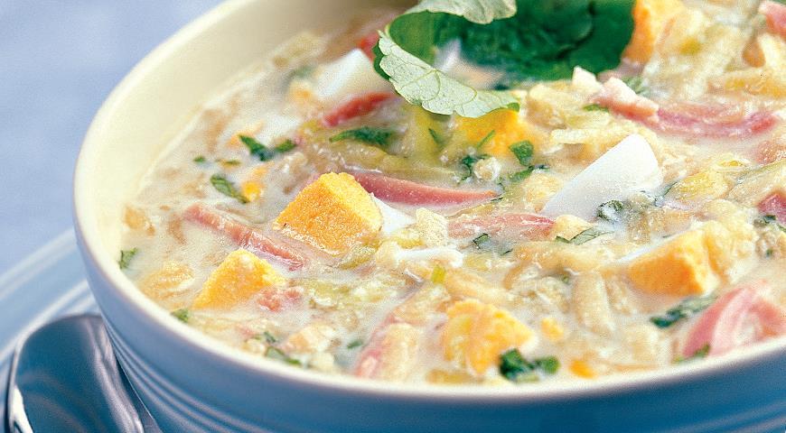 Рецепт Холодный яблочный суп