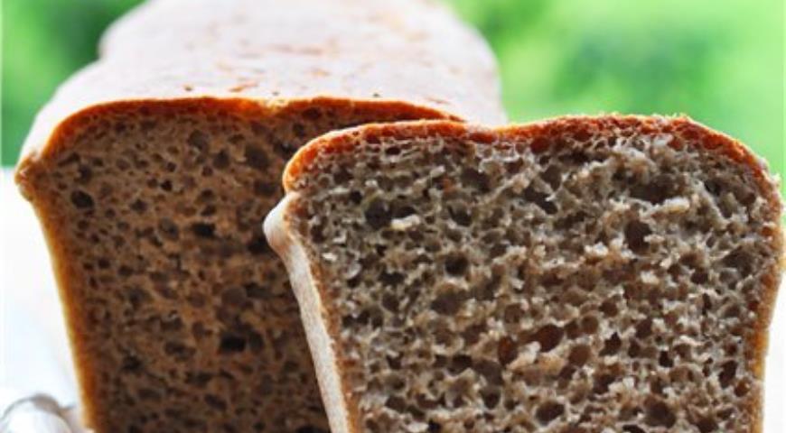 Рецепт Немецкий хлеб (на ржаной закваске)