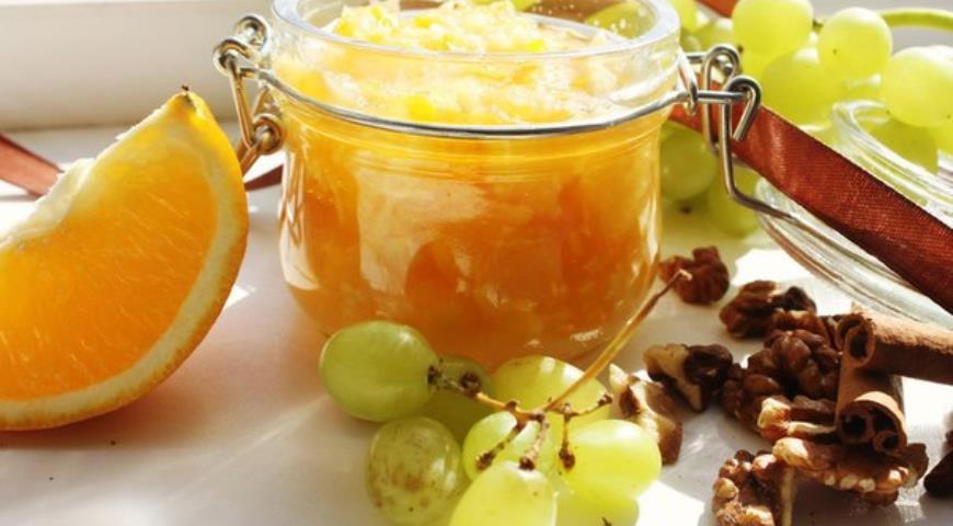 Рецепт Варенье из персиков с апельсином