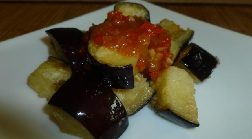Рецепт Баклажаны с хрустящей корочкой в остро-сладком соусе