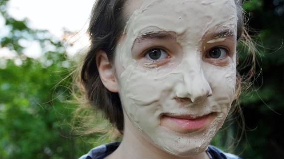 Полезные продукты и домашние маски для кожи лица