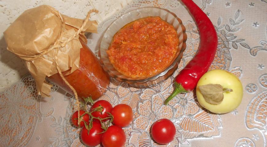 Рецепт Аджика классическая