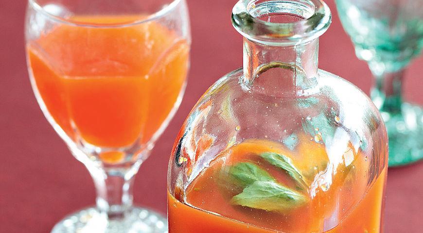 Рецепт Лимонад из сладкого перца с базиликом