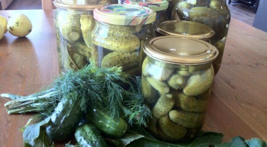 Рецепт Огурцы в кисло-сладком маринаде