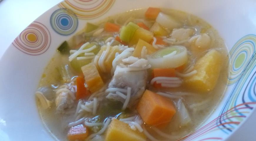 Рецепт Рыбный суп с фенхелем