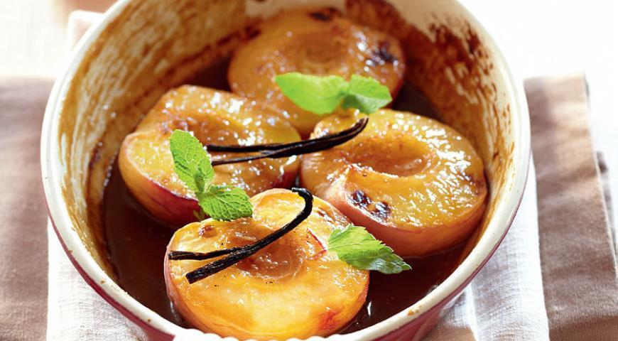 Рецепт Персики в карамели