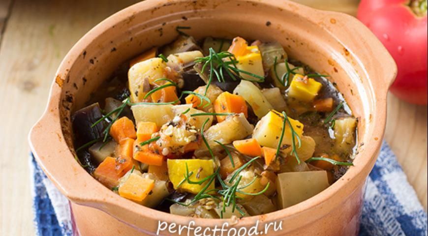 Блюда овощные в горшочках в духовке рецепты пошагово