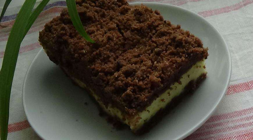 Рецепт Творожный торфяной пирог