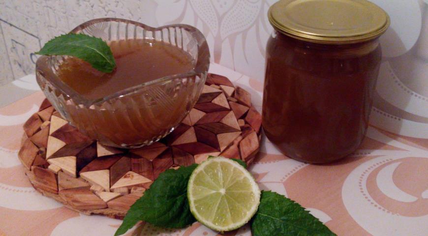Рецепт Мятный конфитюр с лаймом и лимоном