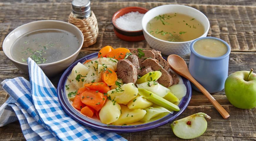 Рецепт Тафельшпиц с яблочным соусом