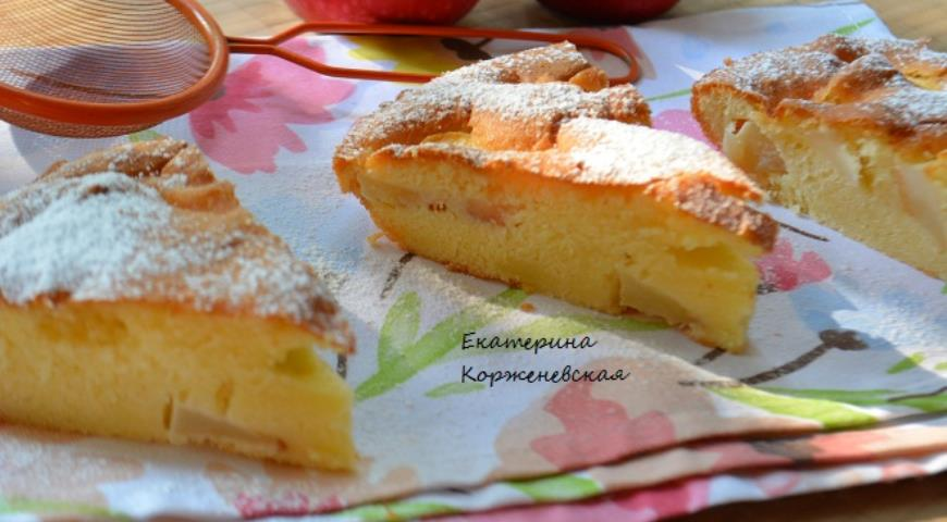 Рецепт Старомодный яблочный пирог